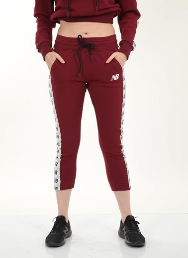 New Balance New Balance Team Pants Kadın Eşofman Altı WPP006-BKR WPP006-BKR034 Kırmızı